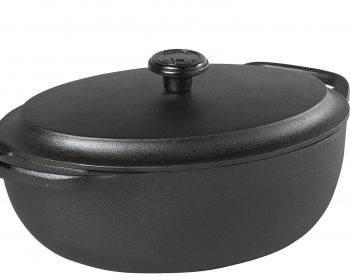 cocotte en fonte ovale